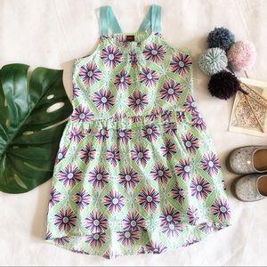 Tea Collection Print Cotton Dress Size 6 EUC